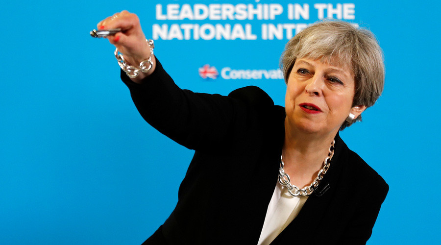 Trump-Lavrov leak claims won't affect UK intelligence-sharing with US – PM Theresa May