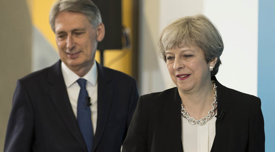 Will Hammond be fired? Theresa May refuses to guarantee chancellor's future