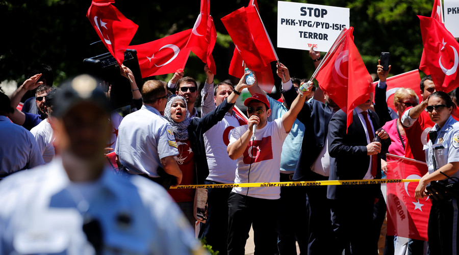 Turkey wants US envoy removed in growing spat over Syrian Kurds