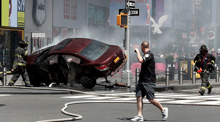 'I wanted to kill them,' Times Square crash driver tells police