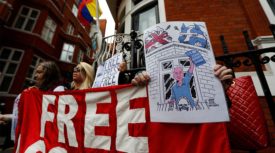 Those exposed by WikiLeaks should be investigated, not Assange – whistleblower's legal team head