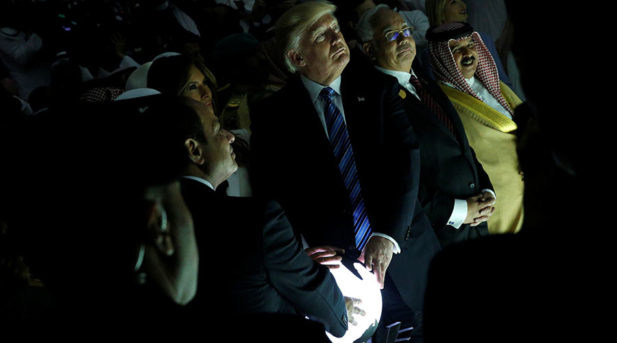 Is Trump's glowing orb a 'witchcraft' conspiracy? (VIDEO, PHOTOS)