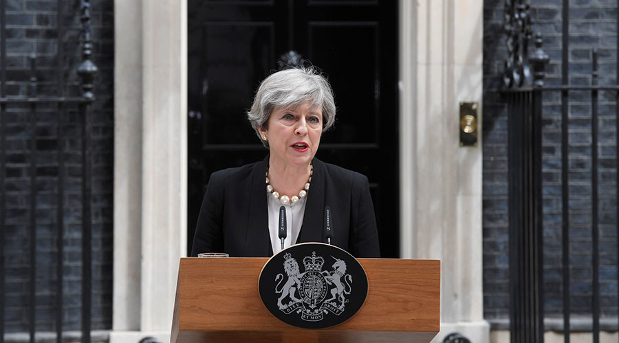 Manchester fell victim to callous terrorist attack, says British PM