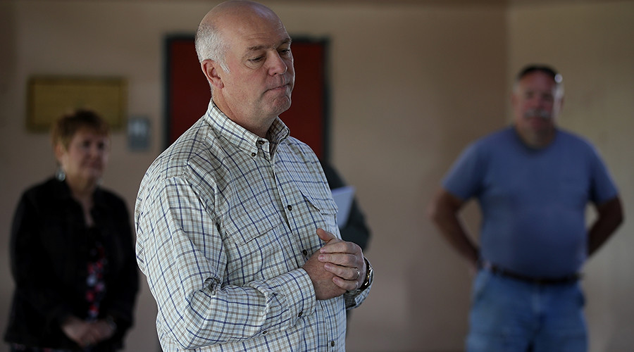 Montana GOP candidate charged with assault after 'body-slamming' reporter