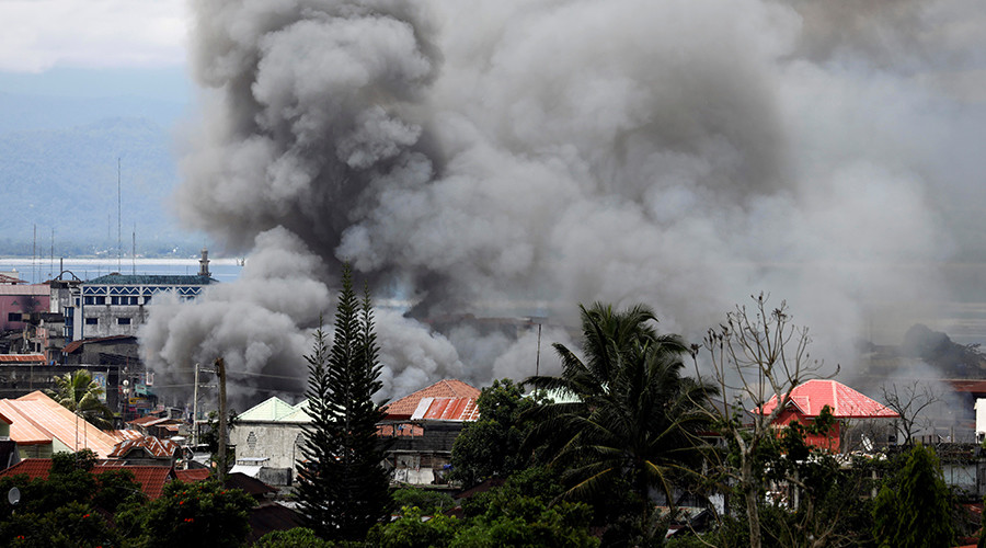 'Guided rockets' used during op targeting ISIS-linked militants in besieged Philippines city
