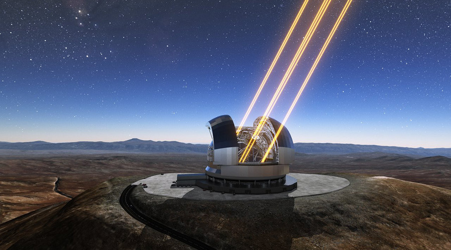 Construction of 'Extremely Large Telescope' begins in Chile
