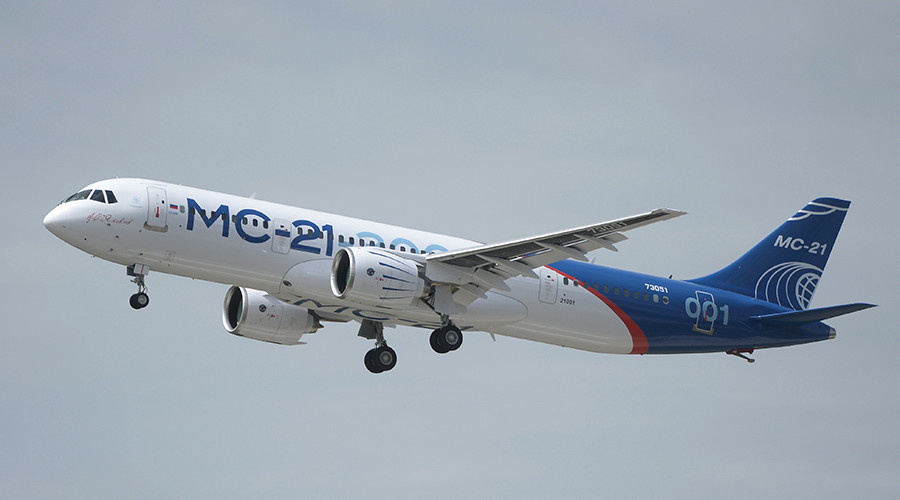 Russia schedules production of first post-Soviet large domestic airliner