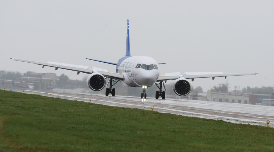 Russia's new civilian airliner takes off on maiden flight (PHOTOS, VIDEOS)