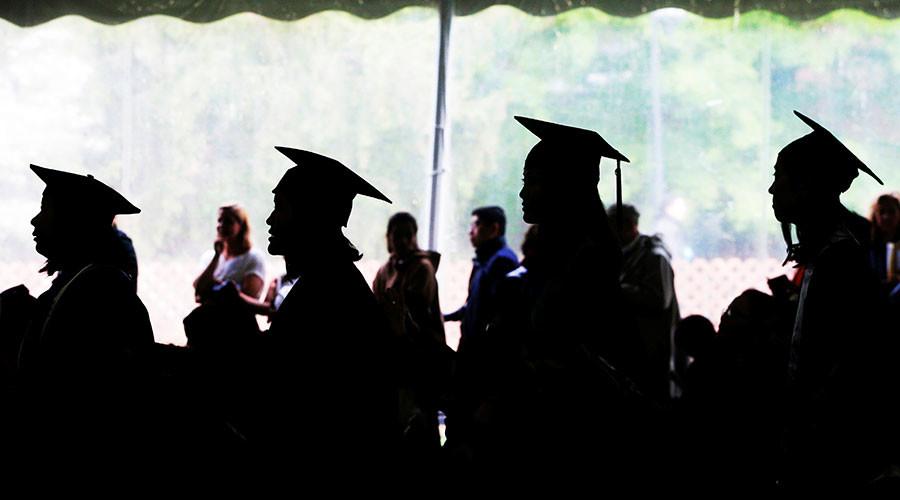 'Revealing necklines': University in hot water over graduation dress code