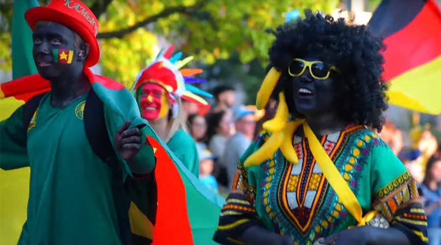 'Blackface' at Sochi Confed Cup football carnival 'bitter misunderstanding,' not racism – mayor
