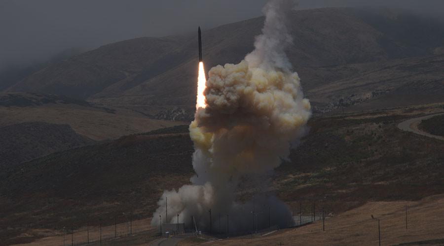 'Critical milestone': Pentagon hails ICBM intercept test (VIDEO)