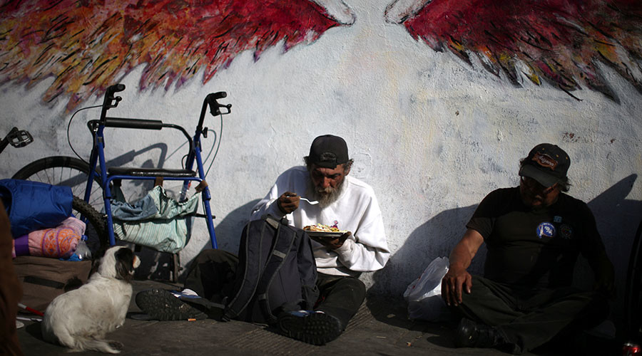Homelessness in LA jumps over 20% in 1 year