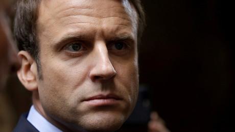 Emmanuel Macron © Pascal Lachenaud