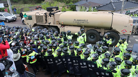 China demands 'immediate' halt to THAAD deployment in South Korea