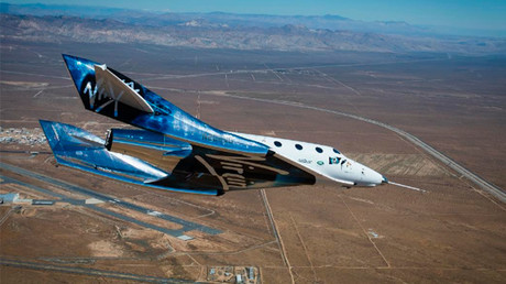 Virgin Galactic conducts 1st test of new reentry system (VIDEO)