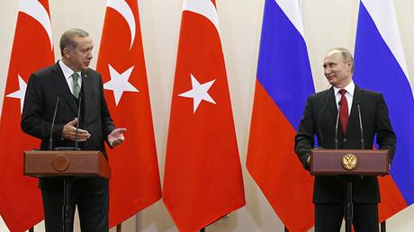 Putin: I discussed de-escalation zones in Syria with Trump, Erdogan
