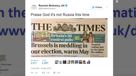 © Russian Embassy, UK