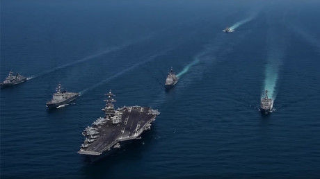 'USS Carl Vinson' in show of force with S. Korea & US destroyers (VIDEO)