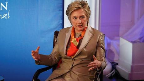 Former U.S. Secretary of State Hillary Clinton © Brendan McDermid