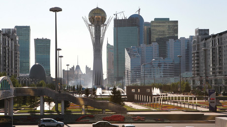View of Astana. Monument