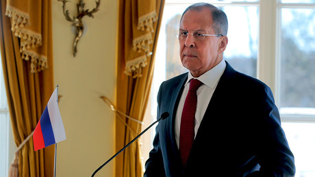 Russian Foreign Minister Sergey Lavrov © Vitaly Belousov
