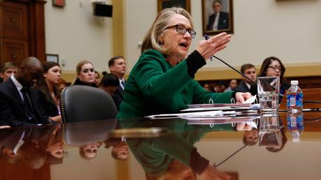 Hillary Clinton © Kevin Lamarque