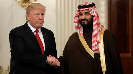 US President Donald Trump and Saudi Deputy Crown Prince and Minister of Defense Mohammed bin Salman © Kevin Lamarque
