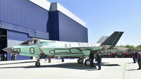 Italy unveils 1st domestically-built F-35B vertical landing jet (PHOTOS)
