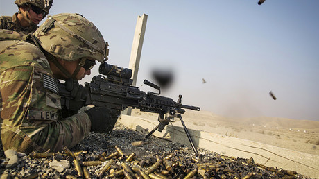 FILE PHOTO: A U.S. soldier, Afghanistan © Lucas Jackson