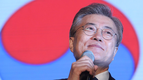 South Korea's president-elect Moon Jae-in © Seo Myeong-gon