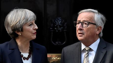 Britain's Prime Minister Theresa May and Head of the European Commission, President Jean-Claude Juncker. ©Hannah McKay