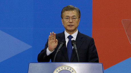 Newly elected South Korean President Moon Jae-in. © Ahn Young-joon