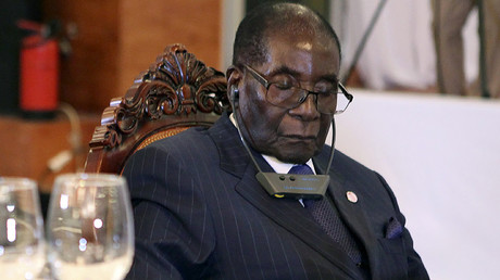 Mugabe not sleeping through meetings, just 'resting his eyes' – spokesperson