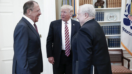 'US media fuss about Russian ambassador at Trump-Lavrov meeting is much ado about nothing'