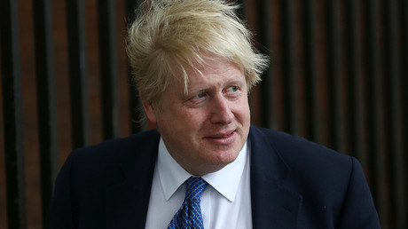 Britain's Foreign Secretary Boris Johnson © Neil Hall
