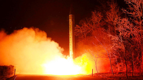 Pyongyang's 'unidentified missile' flies 700km, lands in Sea of Japan