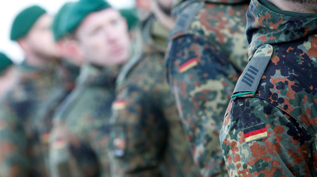 Reminiscent of Nazi era? German police forced to explain controversial logo in new armored cars