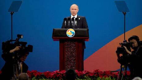 Russian President Vladimir Putin © Mark Schiefelbein