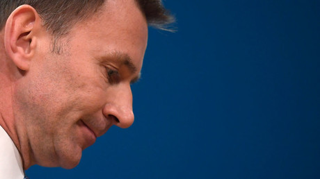 Britain's Health Secretary Jeremy Hunt © Toby Melville
