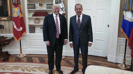 US President Donald Trump and Russian Foreign Minister Sergey Lavrov © Russian Foreign Ministry / Global Look Press
