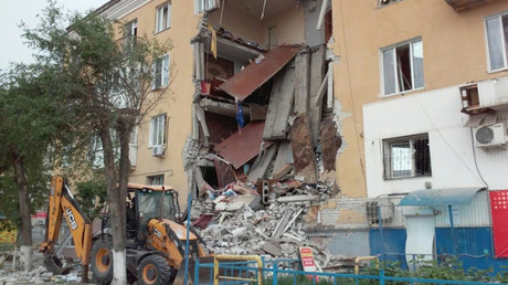 Gas explosion rocks apartment building in southwest Russia, casualties reported (PHOTOS, VIDEO)