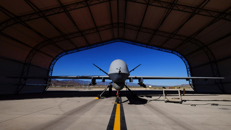 A U.S. Air Force MQ-9 Reaper drone © Josh Smith