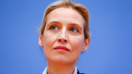 Alice Weidel of the anti-immigration party Alternative for Germany (AFD) © Hannibal Hanschke