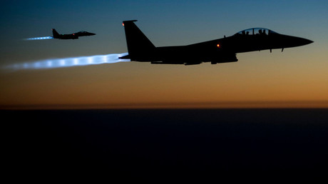 FILE PHOTO: A pair of U.S. Air Force F-15E Strike Eagles © U.S. Air Force