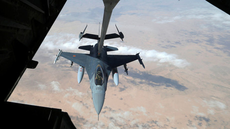FILE PHOTO: A US Air Force F-16 © Hamad I Mohammed