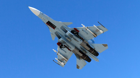 FILE PHOTO: A Sukhoi Su-30 © Global Look Press