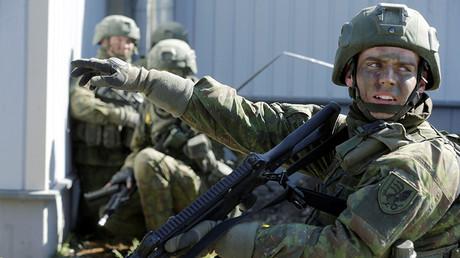 FILE PHOTO: The Spring Storm military exercise, Estonia © Ints Kalnins
