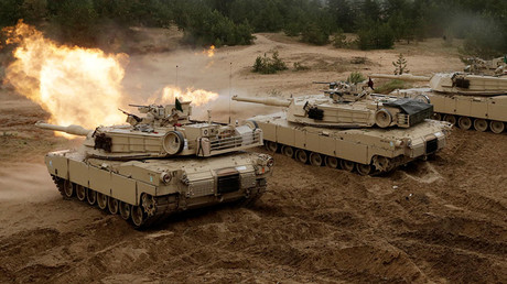 US M1 Abrams main battle tank © Ints Kalnins