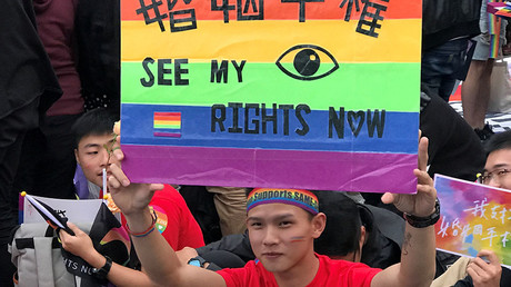 Taiwan's top court backs same-sex marriage in 1st for Asia