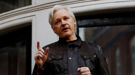 WikiLeaks founder Julian Assange. ©Peter Nicholls